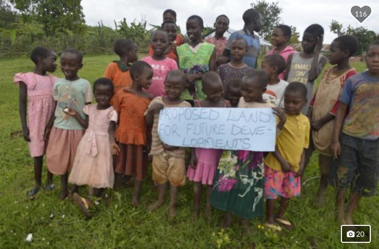 Helping Mbarara Orphanage.